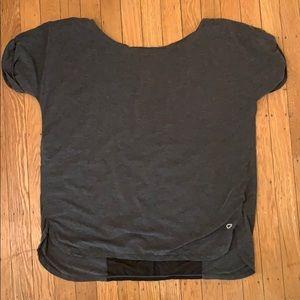 Black and grey gap fit shirt